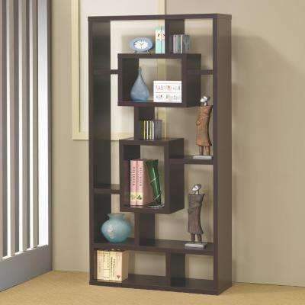 Maguire Cappuccino Bookcase
