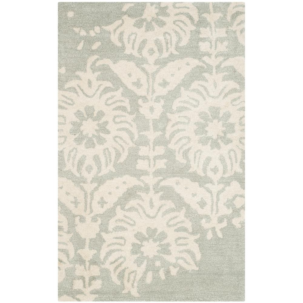 Bella Light Gray/Ivory 2 ft. 6 in. x 4 ft. Area
