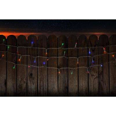 100 light led multi color battery operated decorative string light