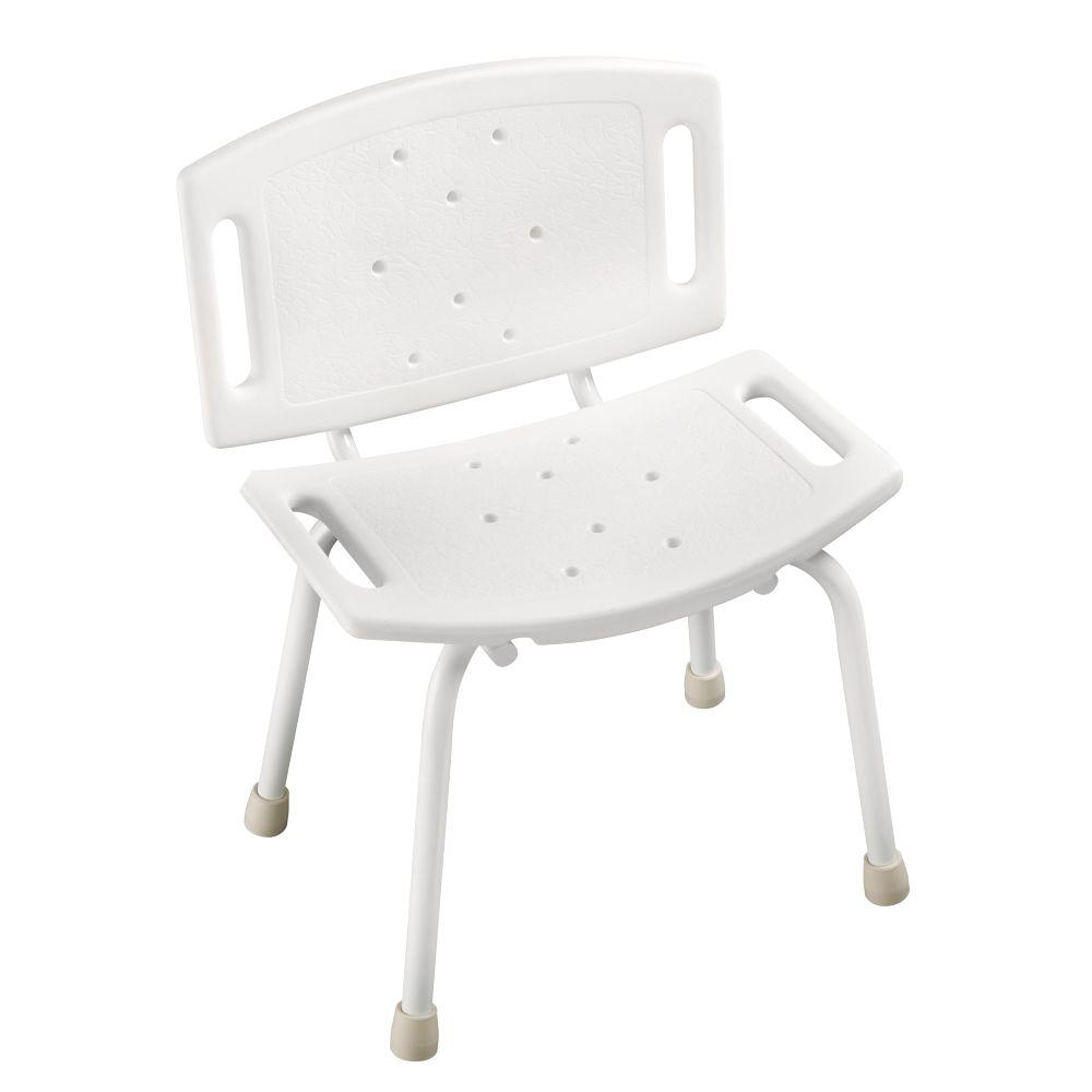 15-1/2 in. x 4-1/2 in. Bathtub and Shower Safety Chair in