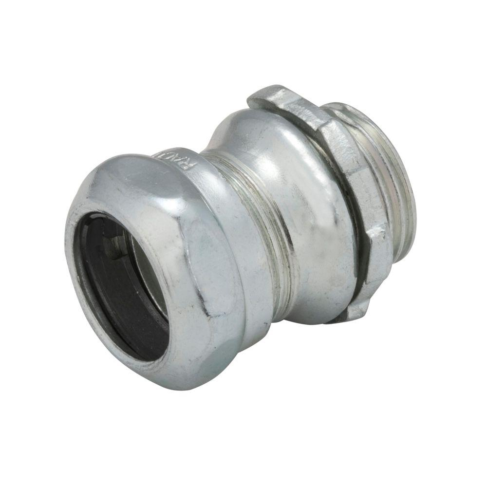 RACO EMT 3/4 in. Uninsulated Steel Compression Connector (25-Pack)