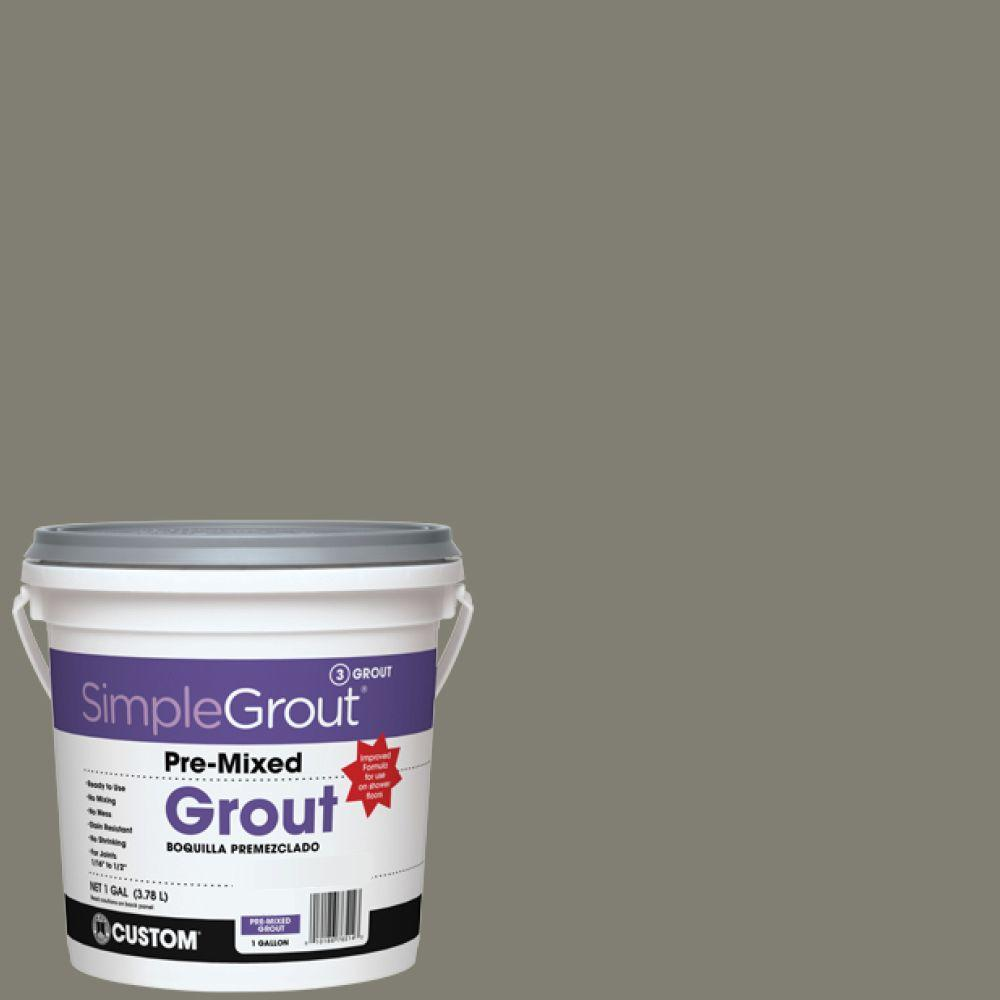 Custom Building Products SimpleGrout #09 Natural Gray 1 Gal. Pre-Mixed Grout