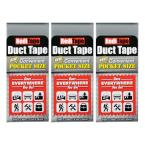 RediTape Pocket Size Duct Tape Silver (3-Pack)