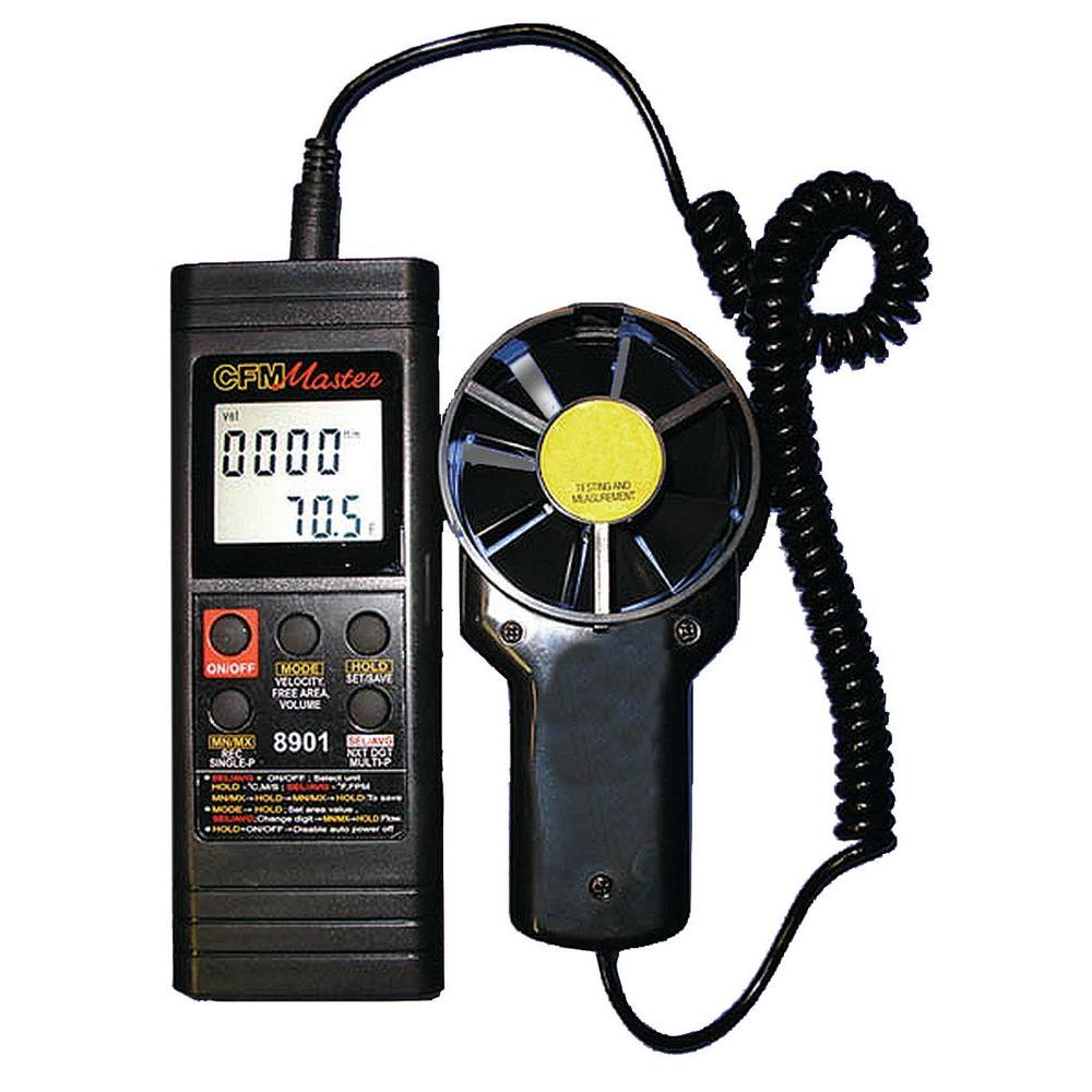 General Tools Digital Airflow Volume Meter (2-Piece)