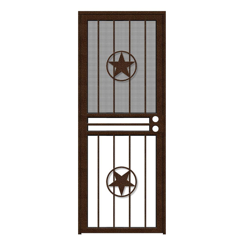 32 in. x 80 in. Lone Star Copperclad Recessed Mount All