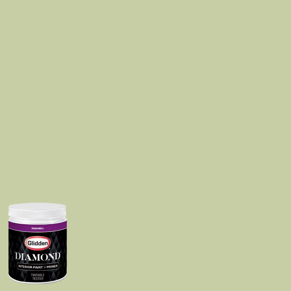 Glidden Diamond 8 Oz Hdgg33u Green Garland Eggshell Interior Paint With Primer Tester Hdgg33ud