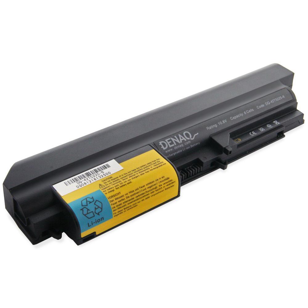 DENAQ 6-Cell 58Whr Li-Ion Laptop Battery for IBM ThinkPad...