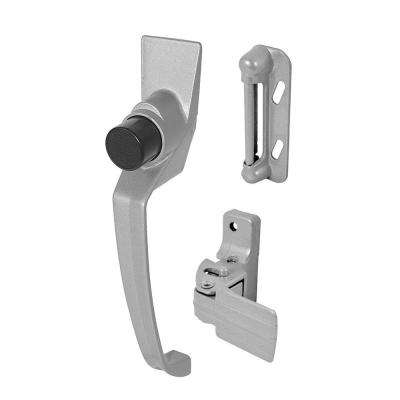 Push Button Latch, with 1-1/2 in. Hole Center, Aluminum