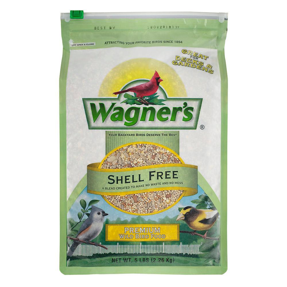 5 lb. Shell Free Premium Wild Bird Food