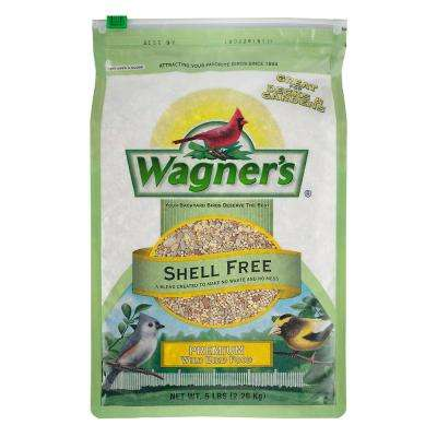 5 lb. Shell Free Premium Wild Bird Food