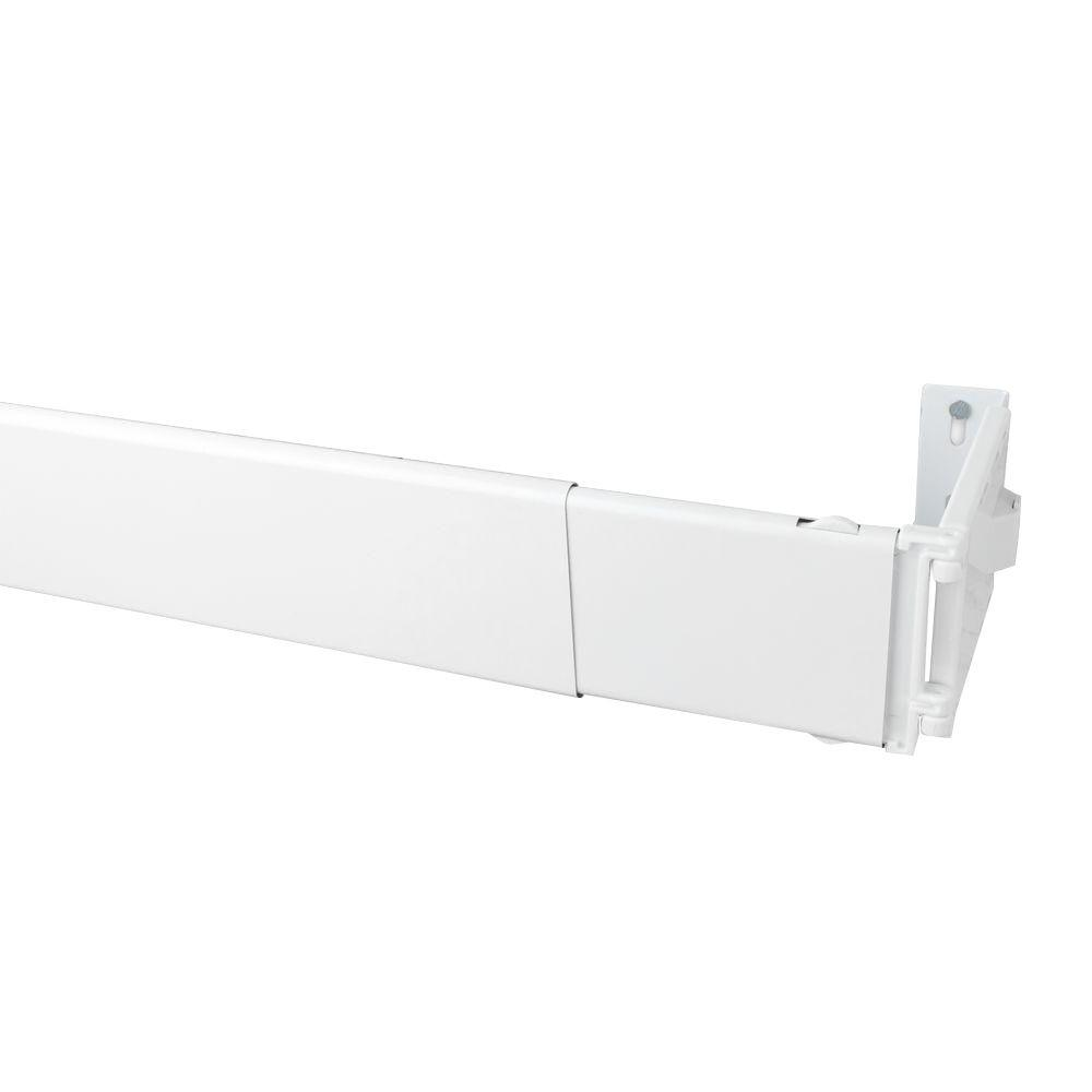 Wide Pocket Curtain Rod WP4084   The Home Depot