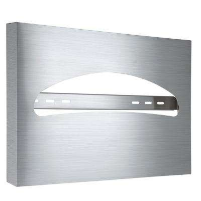 Stainless Steel Brushed Half-Fold Toilet Seat Cover Dispenser