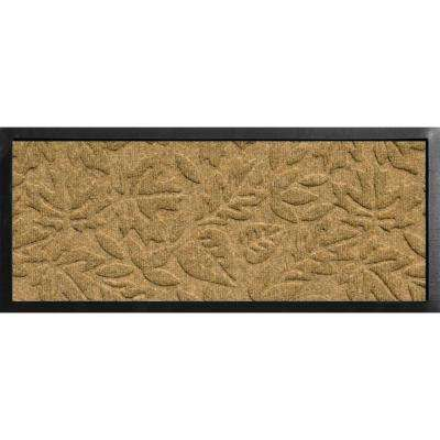 Aqua Shield Boot Tray Fall Day Gold 15 in. x 36 in. Door Mat
