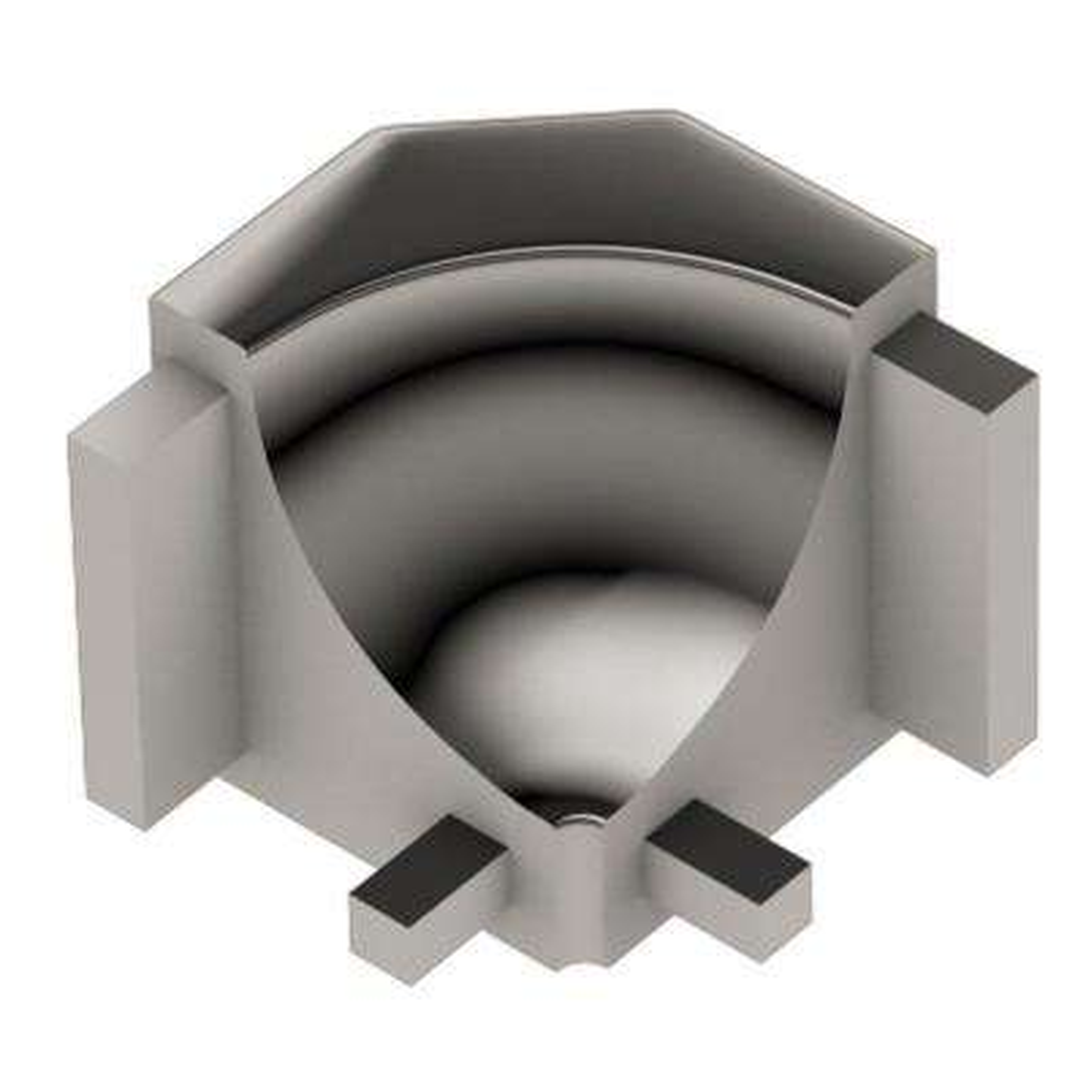 Dilex-AHK Polished Copper Anodized Aluminum 1/2 in. x 1 in. Metal 90 Degree Inside Corner