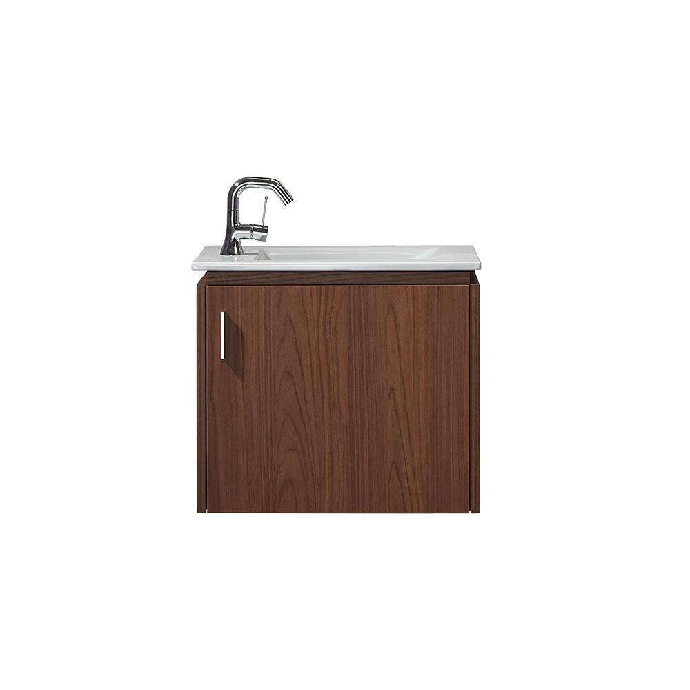 ROSWELL Novara 22 in. W x 13 in. D Bath Vanity in Thai Pomelo with Vanity Top in White with White Drop-In Porcelain sink