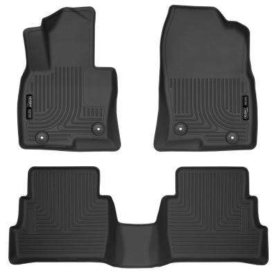 Front & 2nd Seat Floor Liners Fits 14-17 Mazda 6 Grand Touring