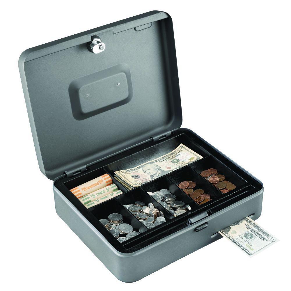 STEELMASTER Cash Slot Security Box  sc 1 st  The Home Depot & STEELMASTER Cash Slot Security Box-2216119G2 - The Home Depot Aboutintivar.Com