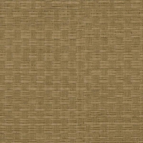 Brewster Chocolate Woven Texture Wallpaper Sample 3097-52SAM
