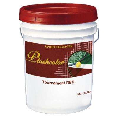 Tournament Red Recreational Surface Coating