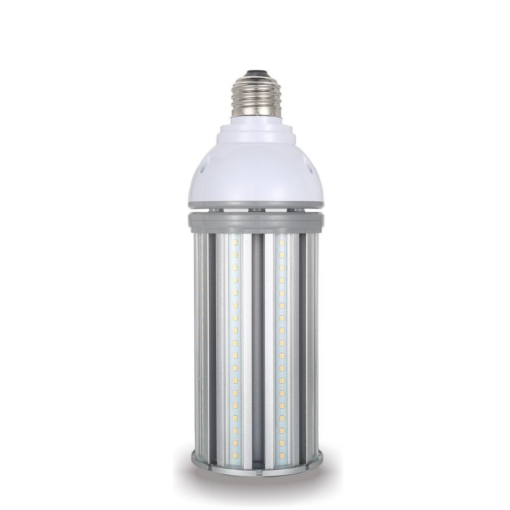 250-Watt Equivalent 54-Watt Corn Cob ED28 HID Med 120-277-Volt High Bay Bypass LED Light Bulb Daylight 5000K (1-Bulb)