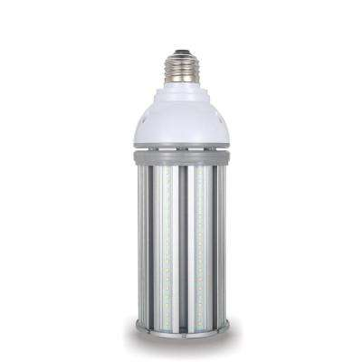 250-Watt Equivalent 54-Watt Corn Cob ED28 HID LED High Bay Bypass Light Bulb Med 120-277-Volt Cool White 4000K