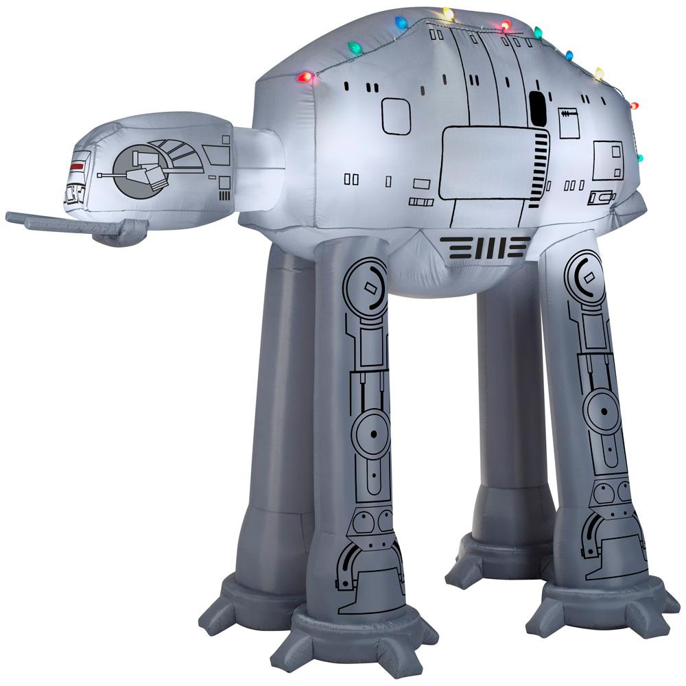 Star Wars 8 ft. Pre-lit Inflatable Airblown AT-AT with Light String
