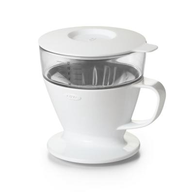 Good Grips 1.5-Cup White Pour-Over Coffee Maker