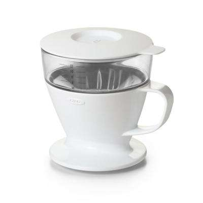 Good Grips 12 oz. Pour-Over Coffee Maker with Water Tank