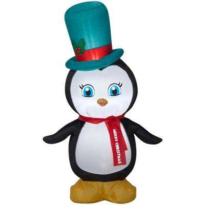 4 ft. Airblown Penguin Christmas Inflatables