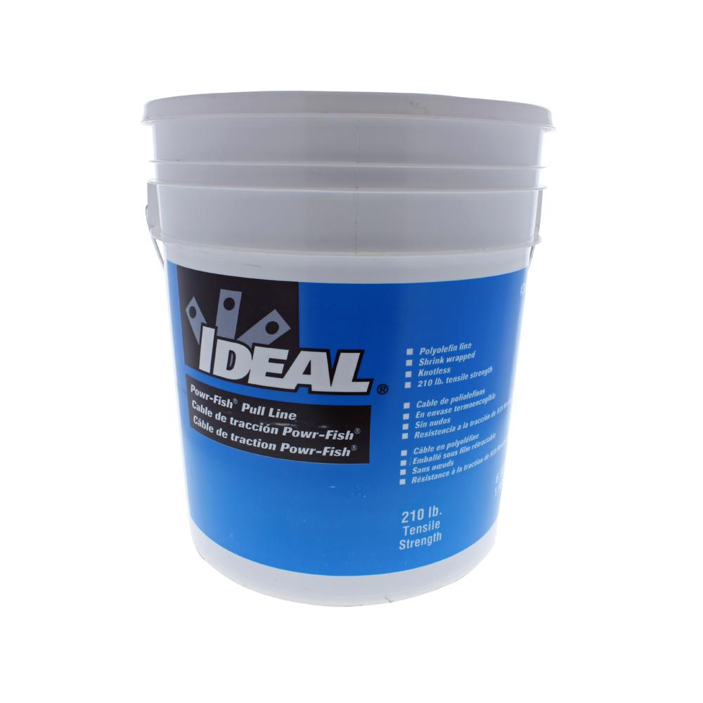 6 500 ft long 210 lb strength powr fish pull line in a for Fishing line home depot