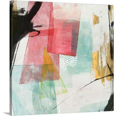 """36 in. x 36 in. """"Transparent I"""" by  PI Studio Canvas Wall Art"""