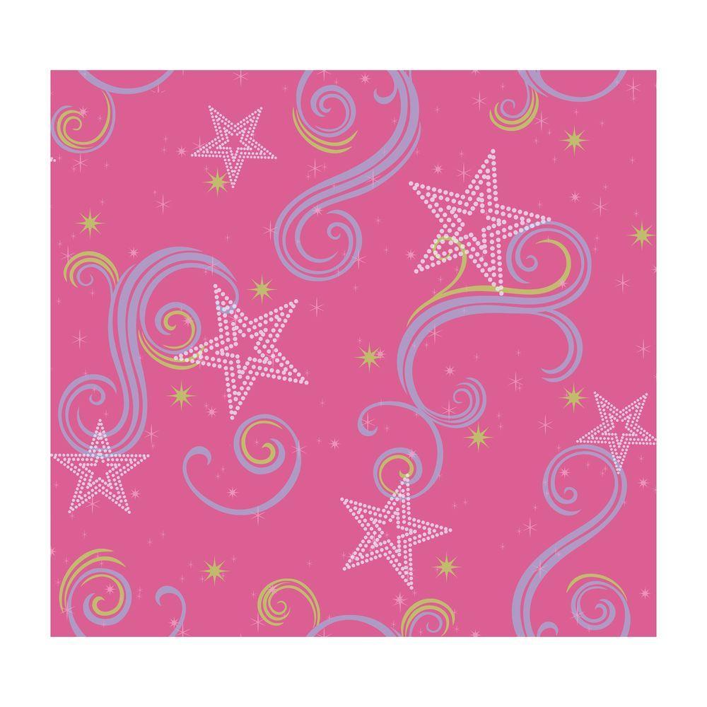 Star Glitter Wallpaper