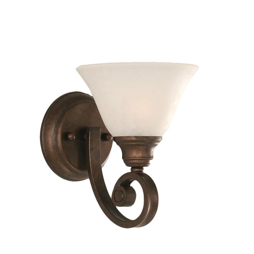 Concord 1-Light Bronze Sconce