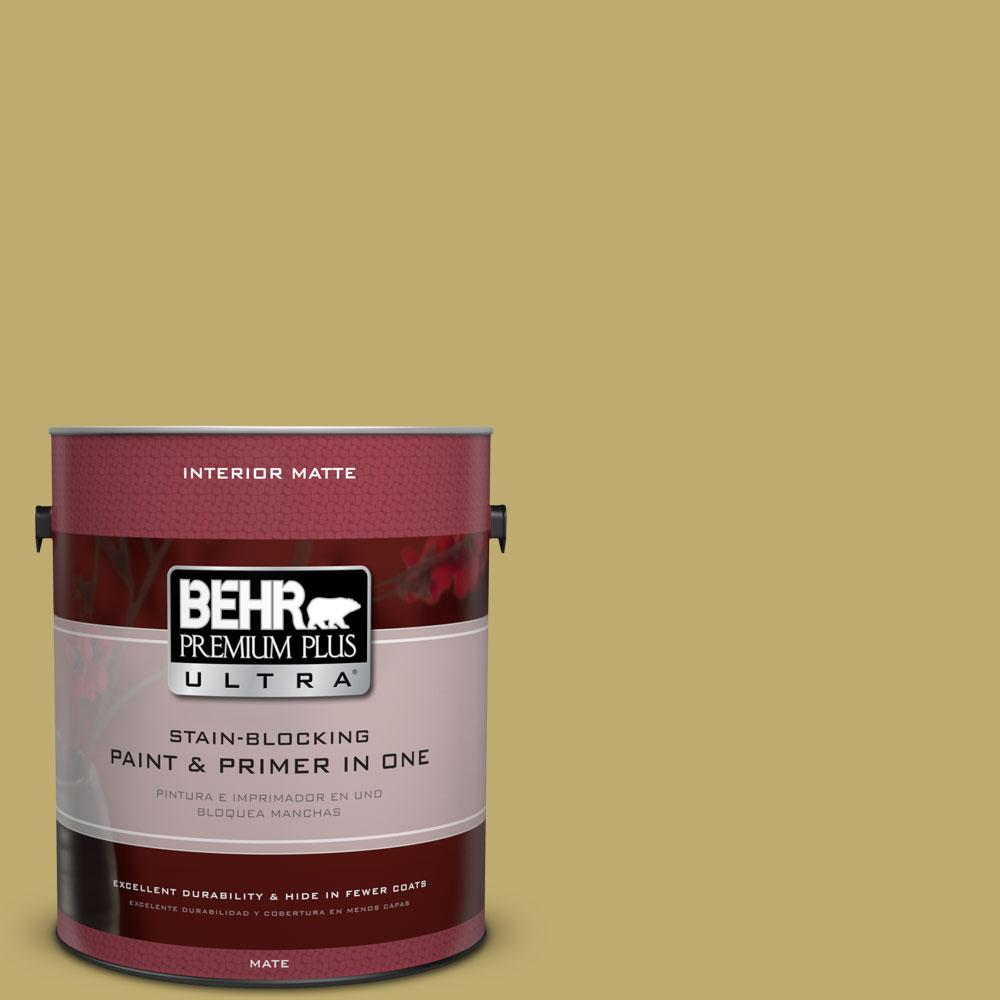 1 gal. #370F-5 Coriander Seed Matte Interior Paint and Primer in