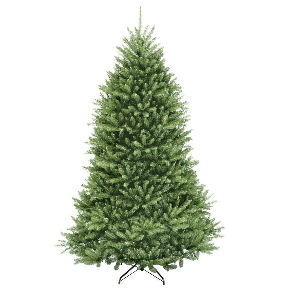 National Tree Company 7.5 ft. Dunhill Fir Hinged Artificial ...