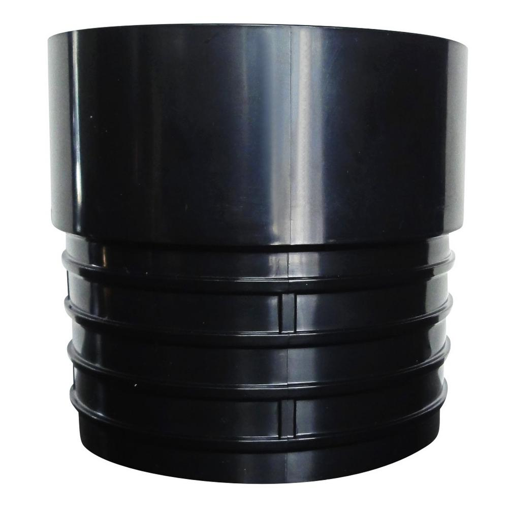 RELN 4 in. Corrugated Pipe Adapter