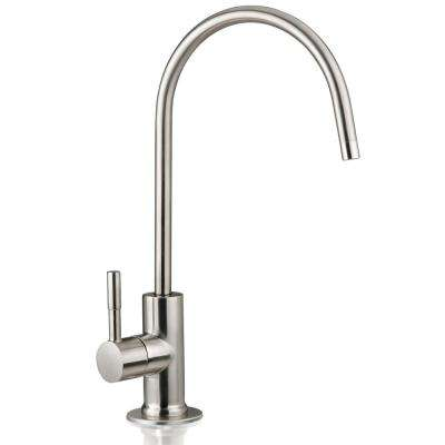 European Designer Drinking Water Faucet For Water Filtration Systems in Brushed Nickel
