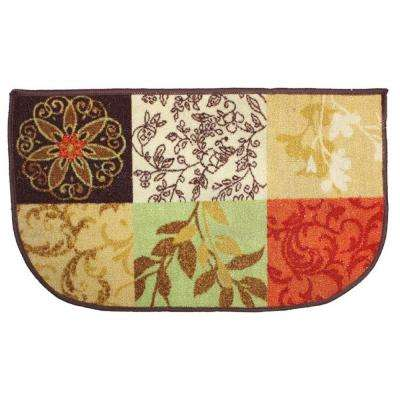 Tuscany Multi-Color 18 in. x 30 in. Indoor Mat