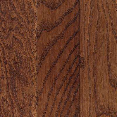 Take Home Sample - Oak Cherry Engineered Click Hardwood Flooring - 5 in. x 7 in.