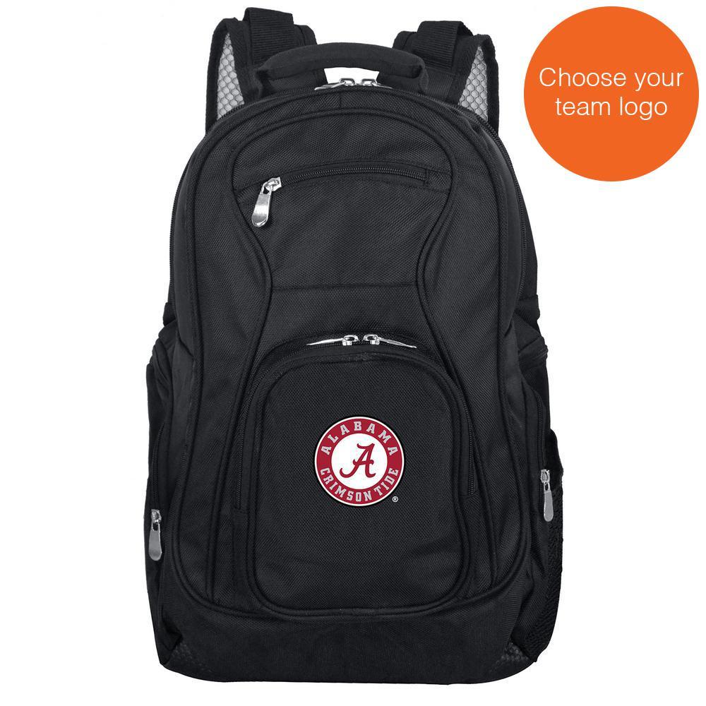NCAA Alabama Black Backpack Laptop