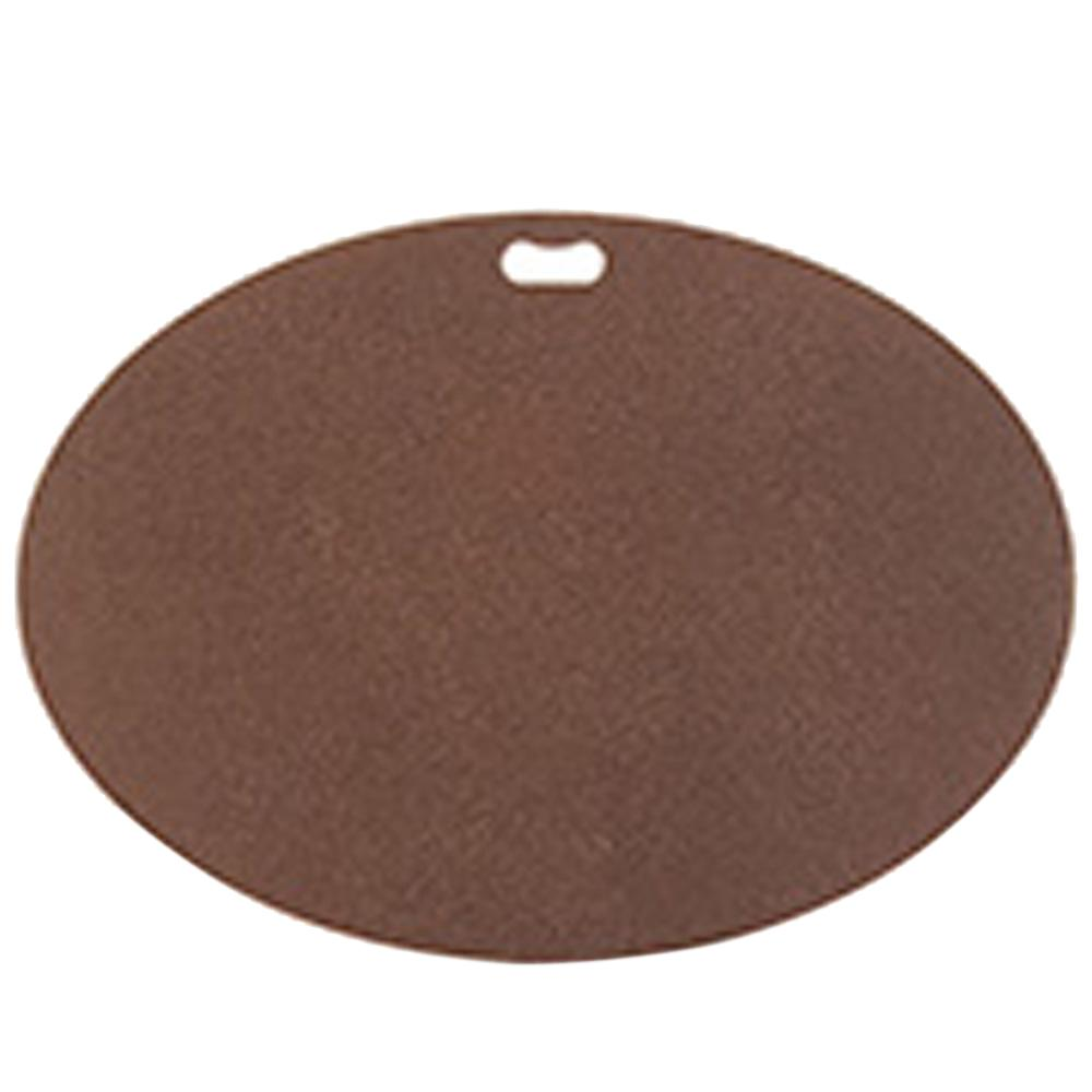 The Original Grill Pad 42 In X 30 Oval Earthtone Brown Deck Protector