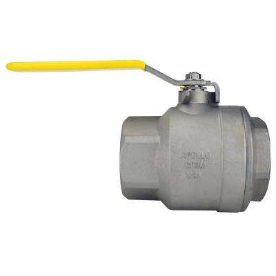 3 in. Stainless Steel FNPT x FNPT Full-Port Ball Valve