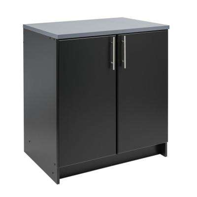 Elite Black 32 in. Base Cabinet
