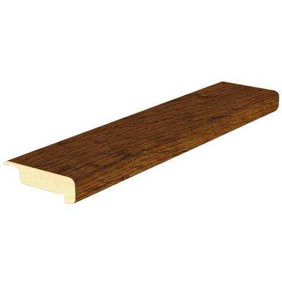 Burnished Oak 4/5 in. Thick x 2-2/5 in. Wide x 78-7/10 in. Length Laminate Stair Nose Molding