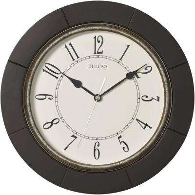 12 in. H x 12 in. W Round Wall Clock