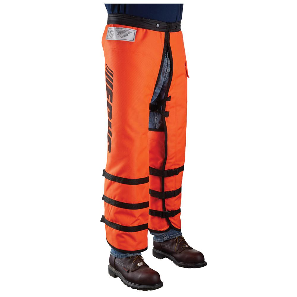 Echo 40 in full wrap chain saw chaps 99988801303 the home depot greentooth Images