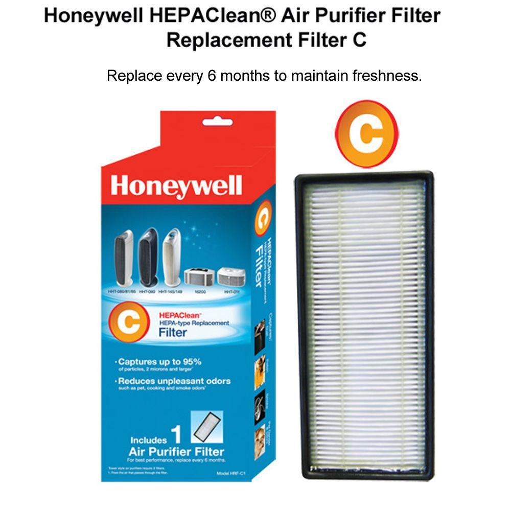 Honeywell HEPAClean Replacement Filter CHRFC1 The Home Depot