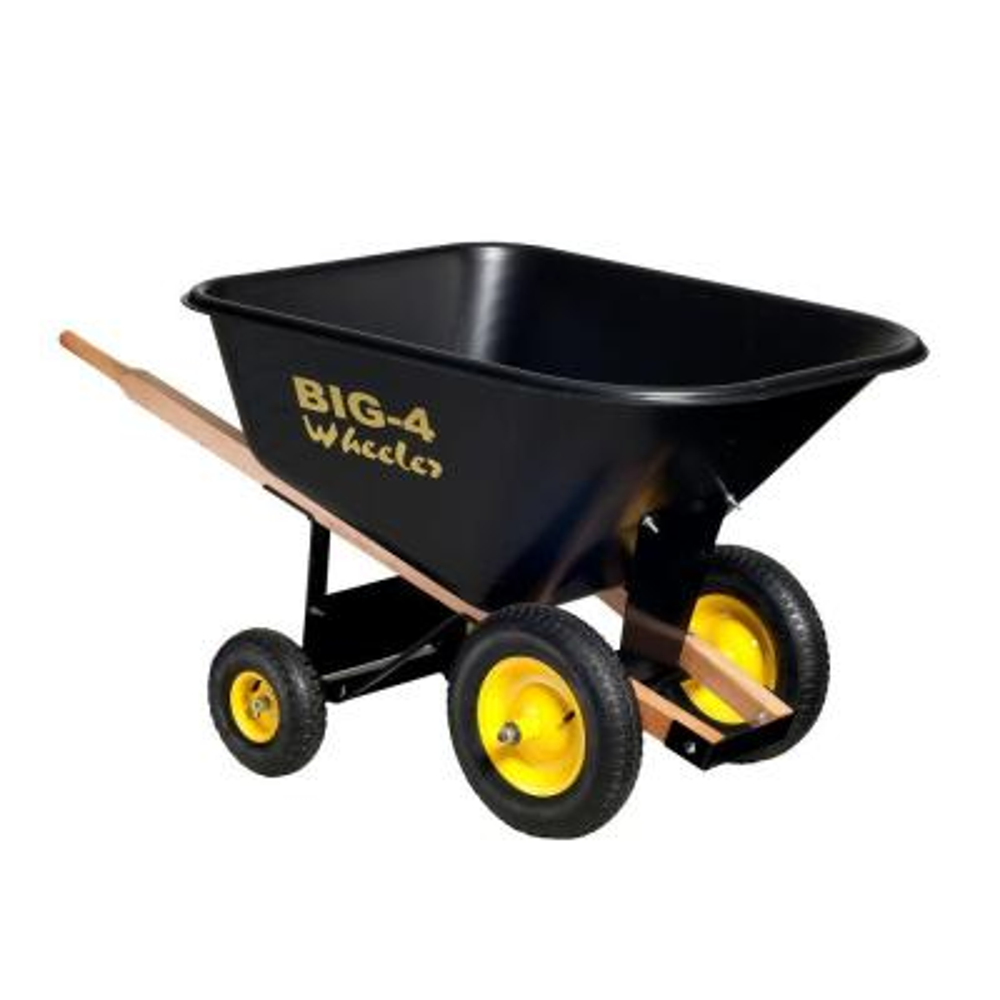 10 cu. ft. Heavy-Duty Wheelbarrow