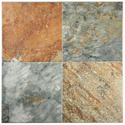 Airam Pizarra 20-1/4 in. x 20-1/4 in. Ceramic Floor and Wall Tile (20.43 sq. ft. / case)