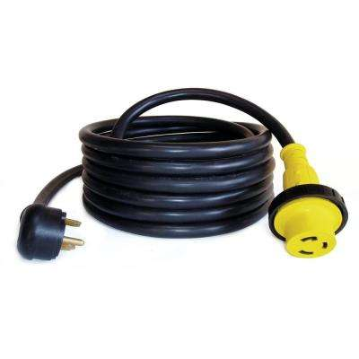 25 ft. 10/3 30 Amp Recreational Power Extension Cord with Locking Ring